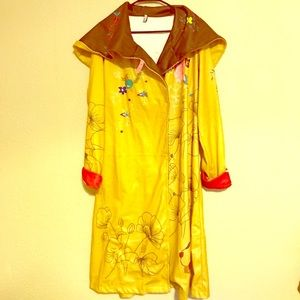 MISSLOOK long jacket yellow and brown